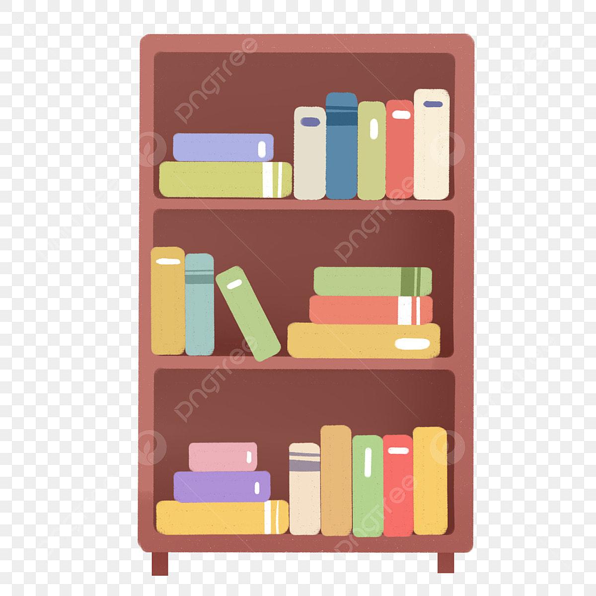 Peints A La Main Bibliotheque Livre Cabinet Livre