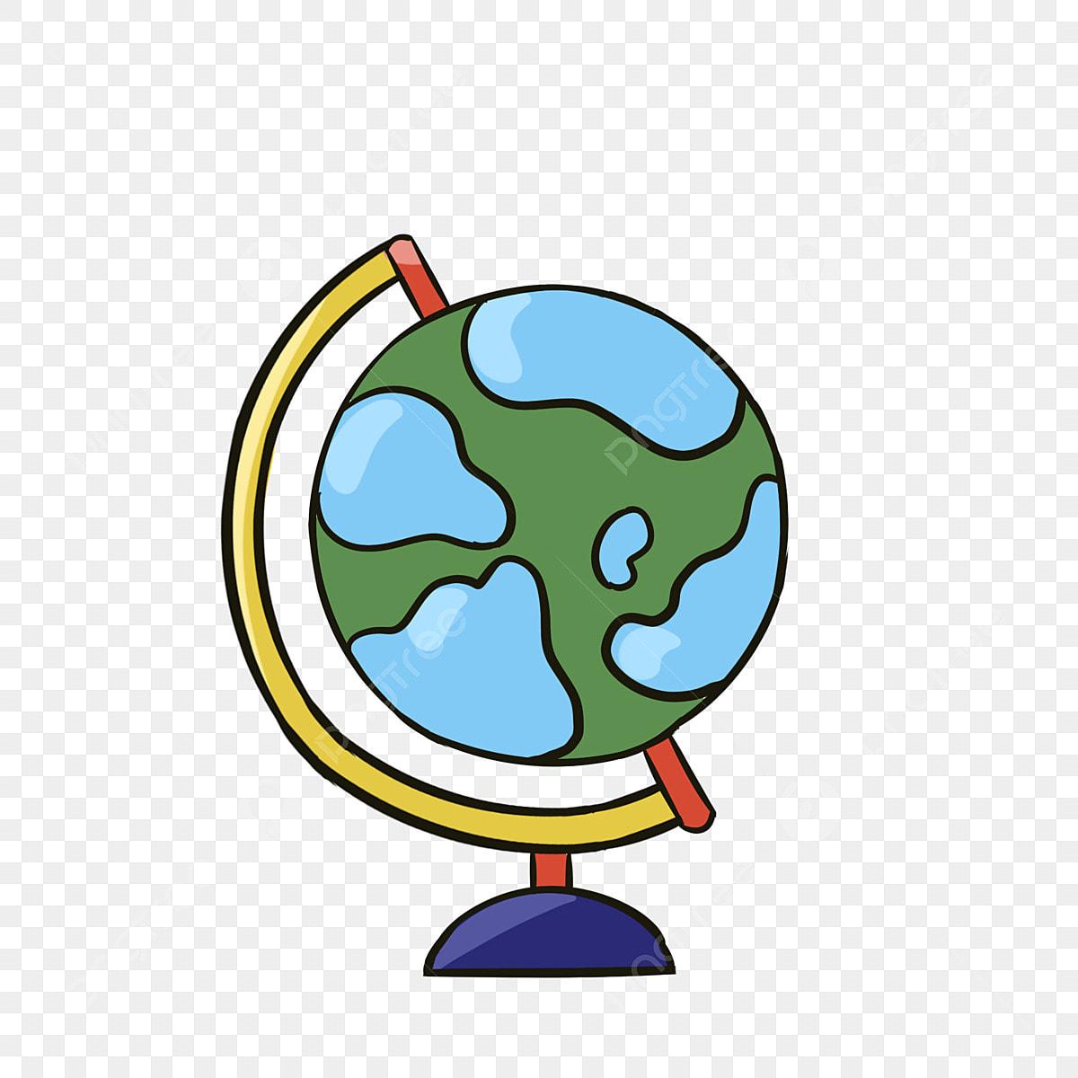 Hand Painted Color Globe Atmospheric Model, Teaching