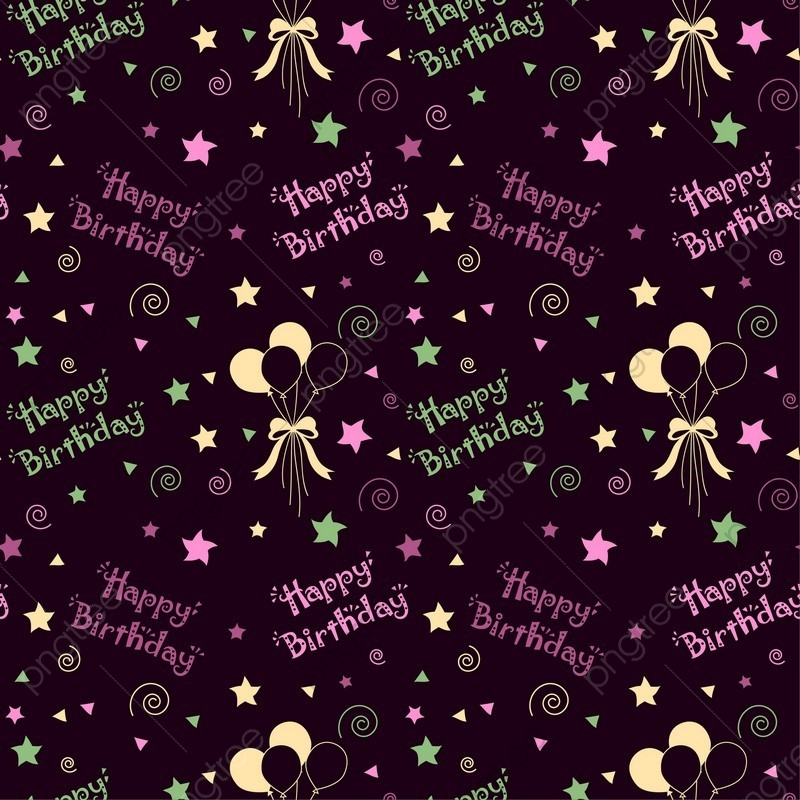 Happy Birthday Pattern Background, Pattern, Party, Birthday PNG and