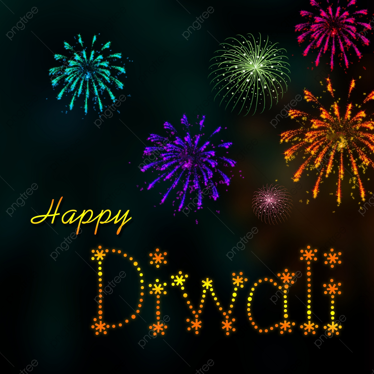 Happy New Year And Happy Diwali 92