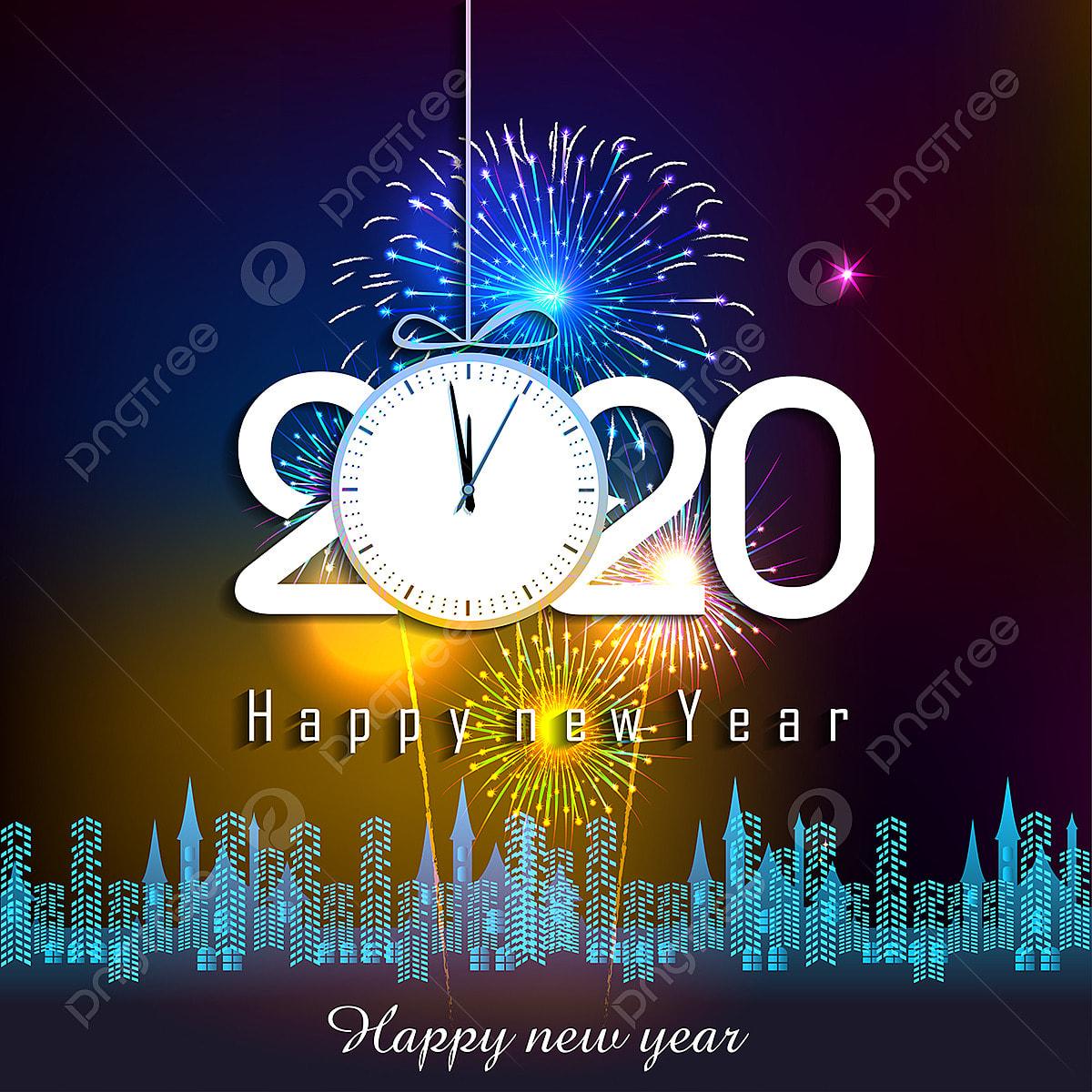 Calendrier Feu D Artifice 2020.Heureuse Nouvelle Annee 2020 Historique Avec Des Feux D