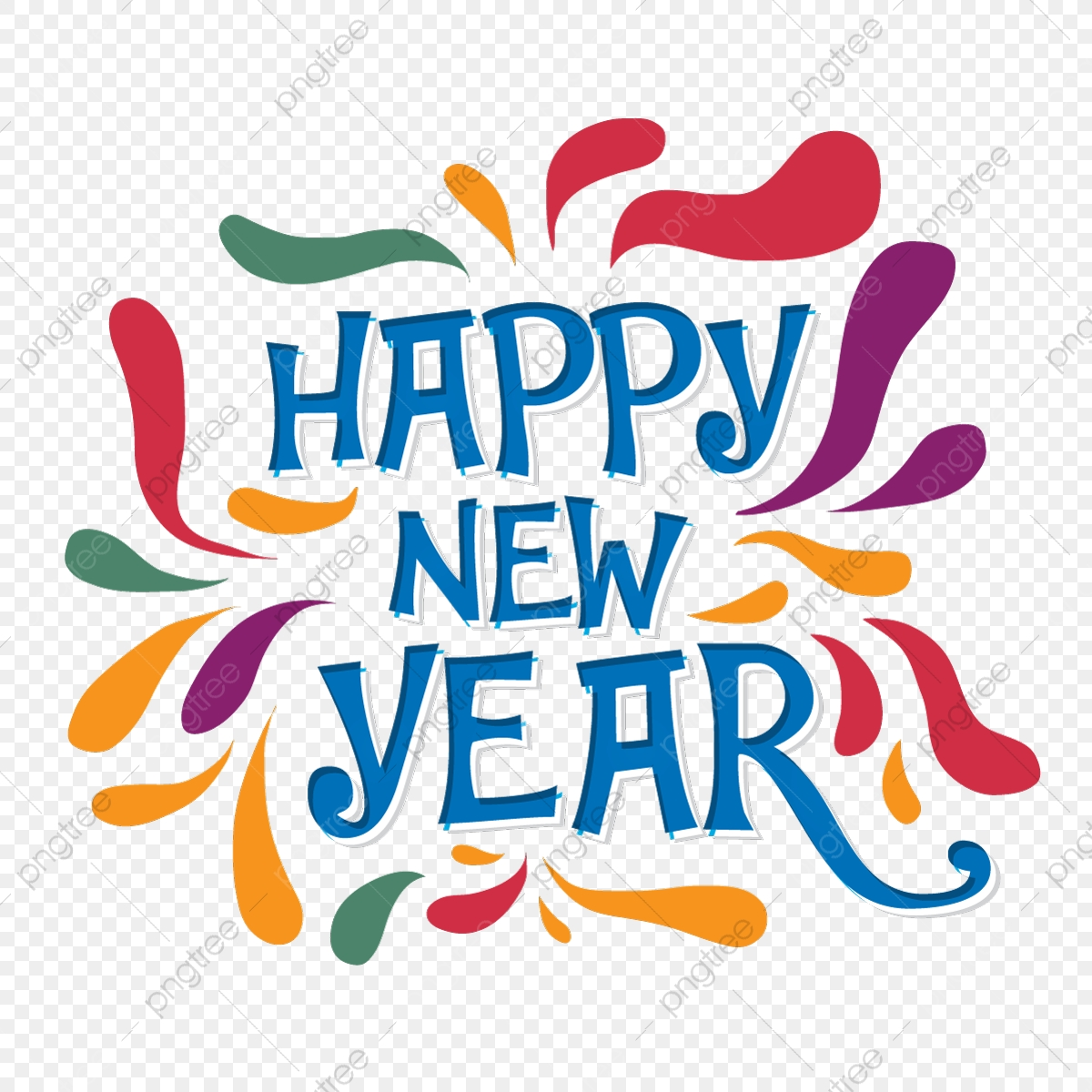 Happy New Year Lettering 20