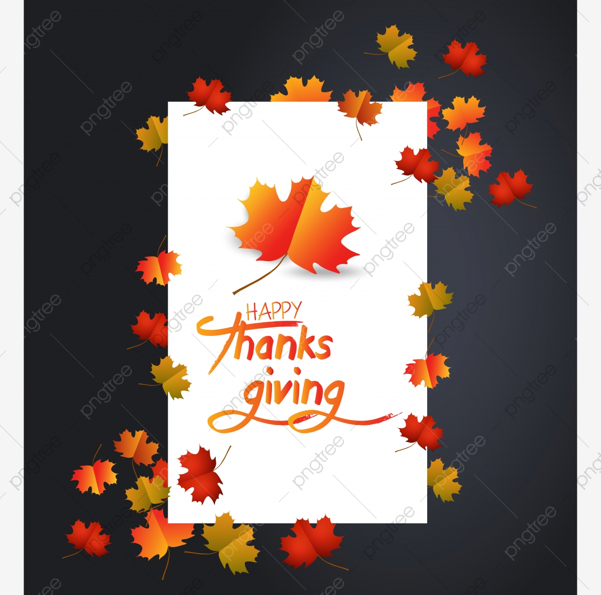 Download Fall / Autumn / Happy Thanksgiving Kids Vector Clipart Image