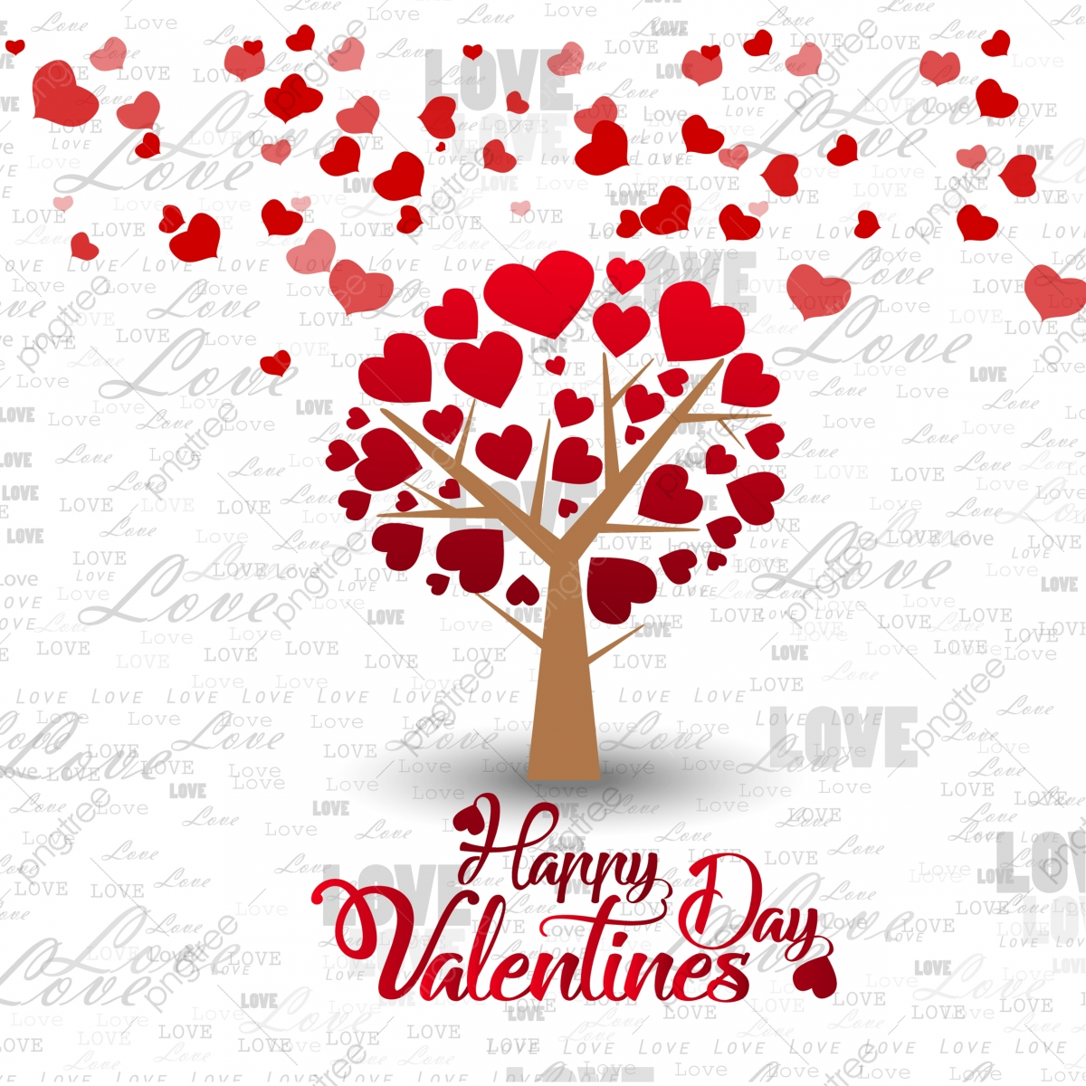 happy valentines day card love romantic background