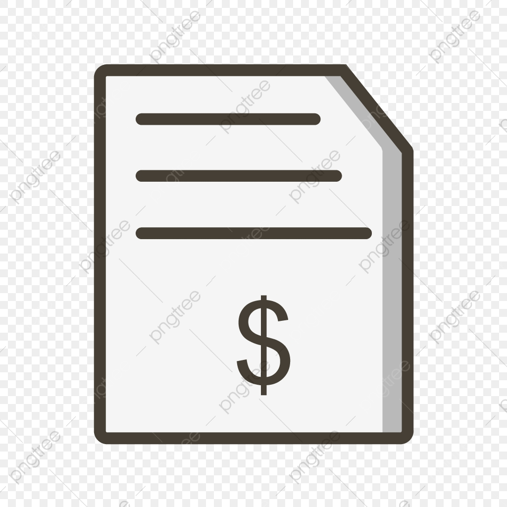 Invoice Vector Icon Bill Icon Invoice Icon Order Icon Png