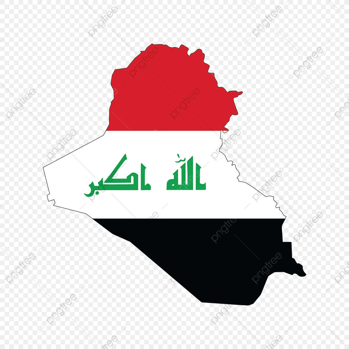 Irag Map Shape Flag Iraq Independence Independence Day Png And