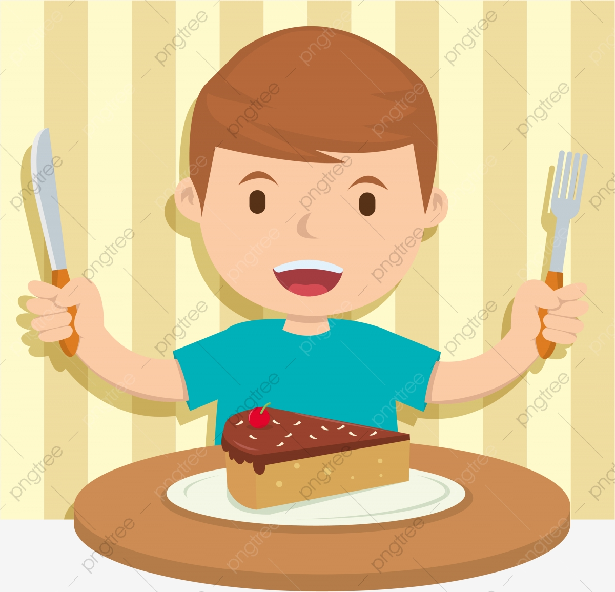 Kids Eating Boy Food Child Png And Vector With Transparent Background For Free Download