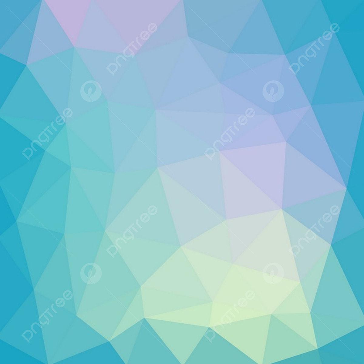 أزرق فاتح ناعم مضلع ناقلات خلفية المنخفضة بولي الكريستال تصميم فسيفساء نمط لوحة Png والمتجهات للتحميل مجانا