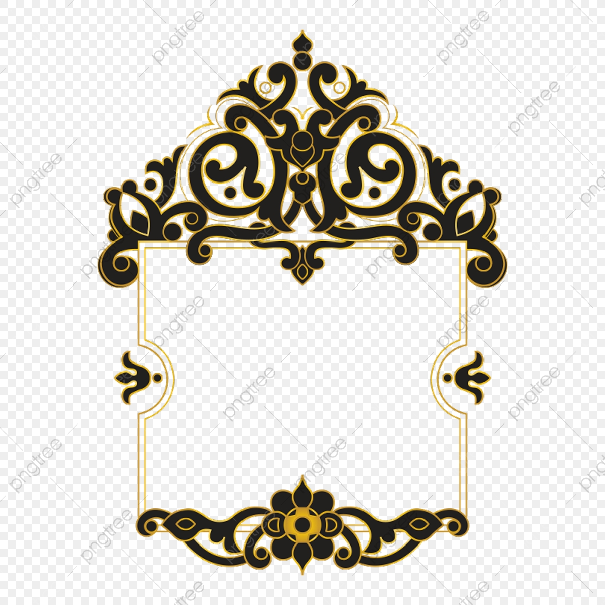 Ornament Border Png Images Vector And Psd Files Free Download On Pngtree