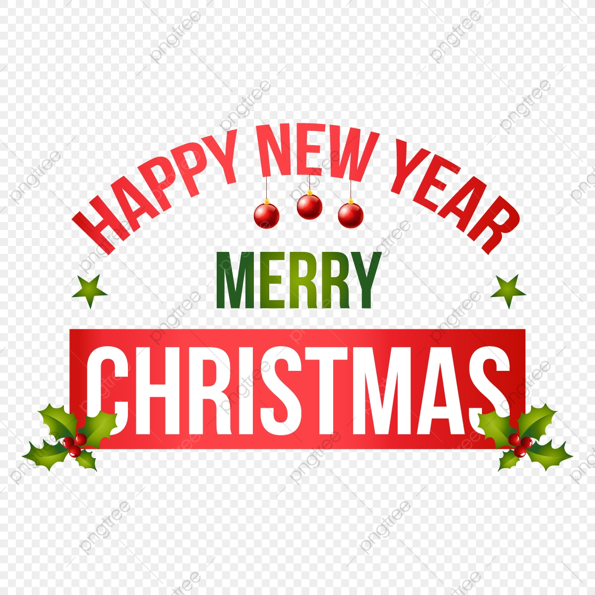 Merry Christmas & Happy New Year Merry Christmas Happy New Year Label Vector, Happy New Year, Merry