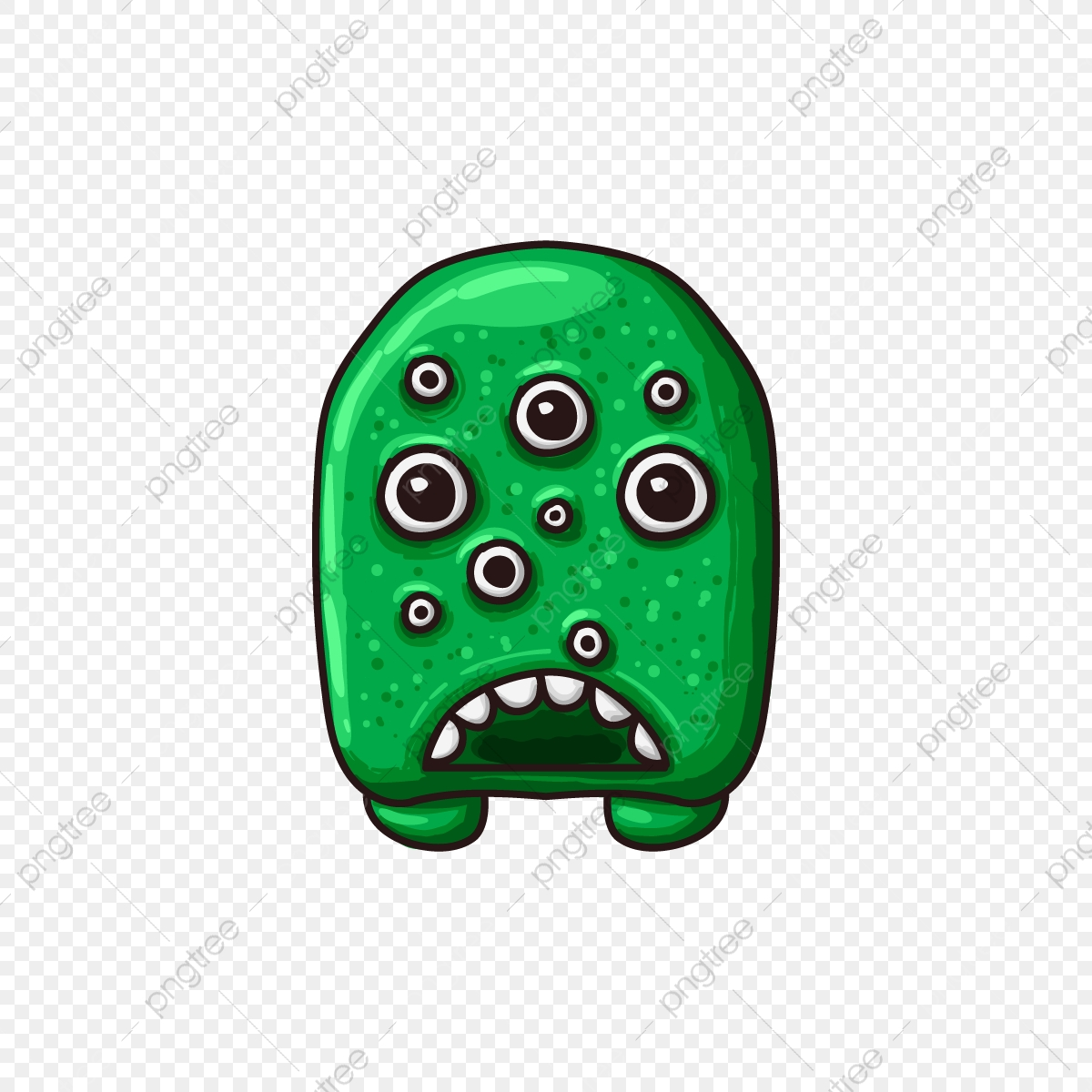 Monster Game Assets Ui Kit, Game, Ui, Kit PNG and Vector