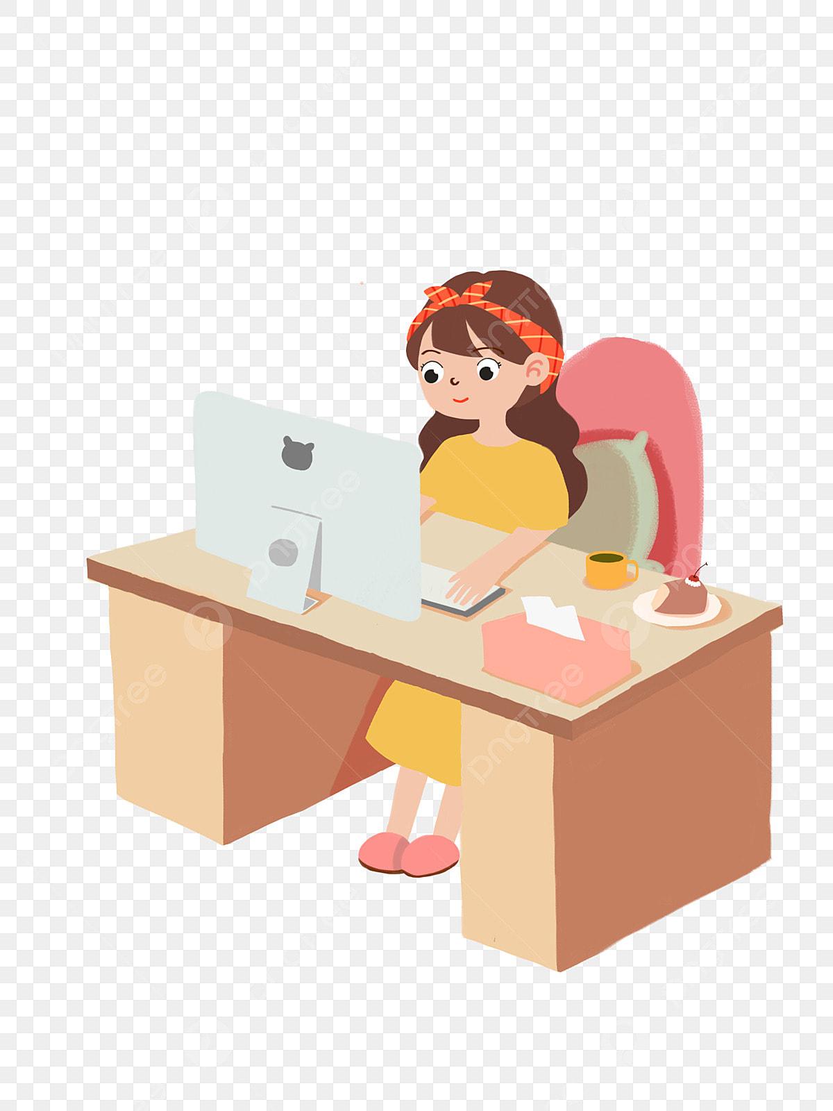 игры девушка на работе