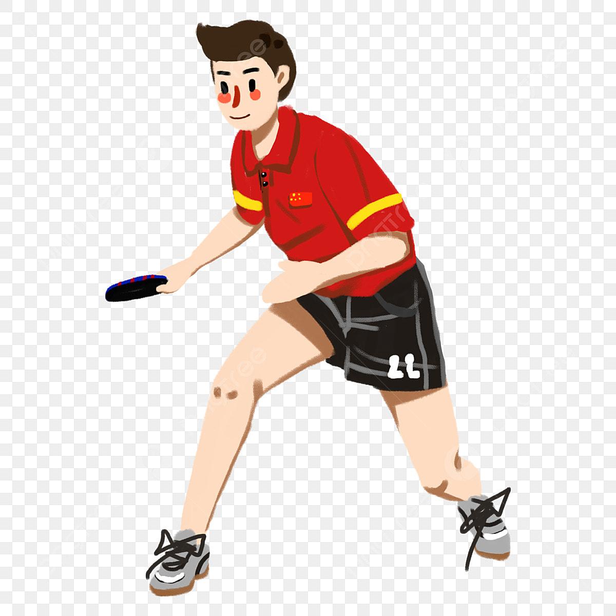 กีฬาโอลิมปิก โครงการโอลิมปิก เกมส์ กีฬา, กีฬาโอลิมปิก, น่ารัก,  เทเบิลเทนนิสภาพ PNG และ PSD สำหรับดาวน์โหลดฟรี