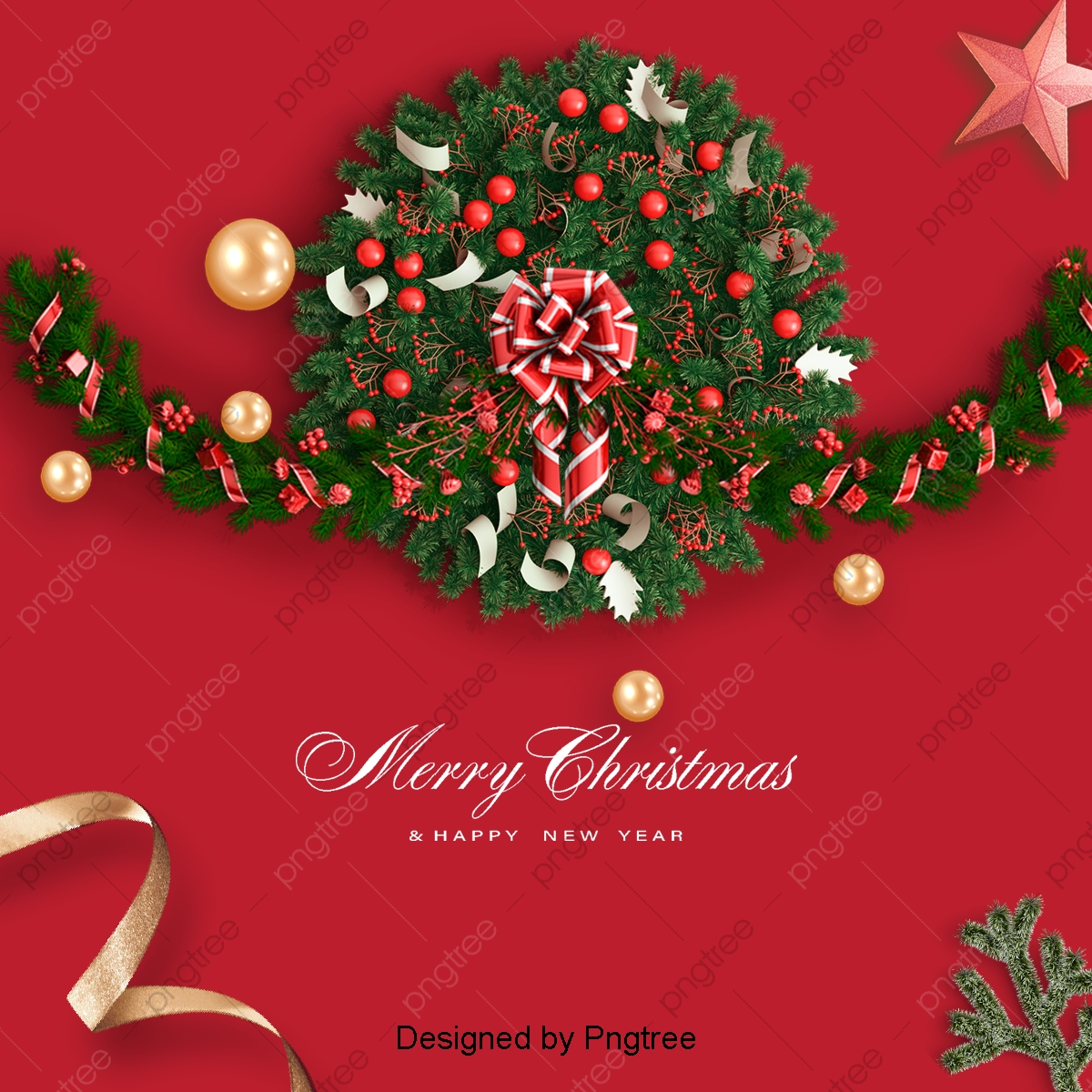 Christmas Green Color.Red And Green Color And The Original Christmas Promotion