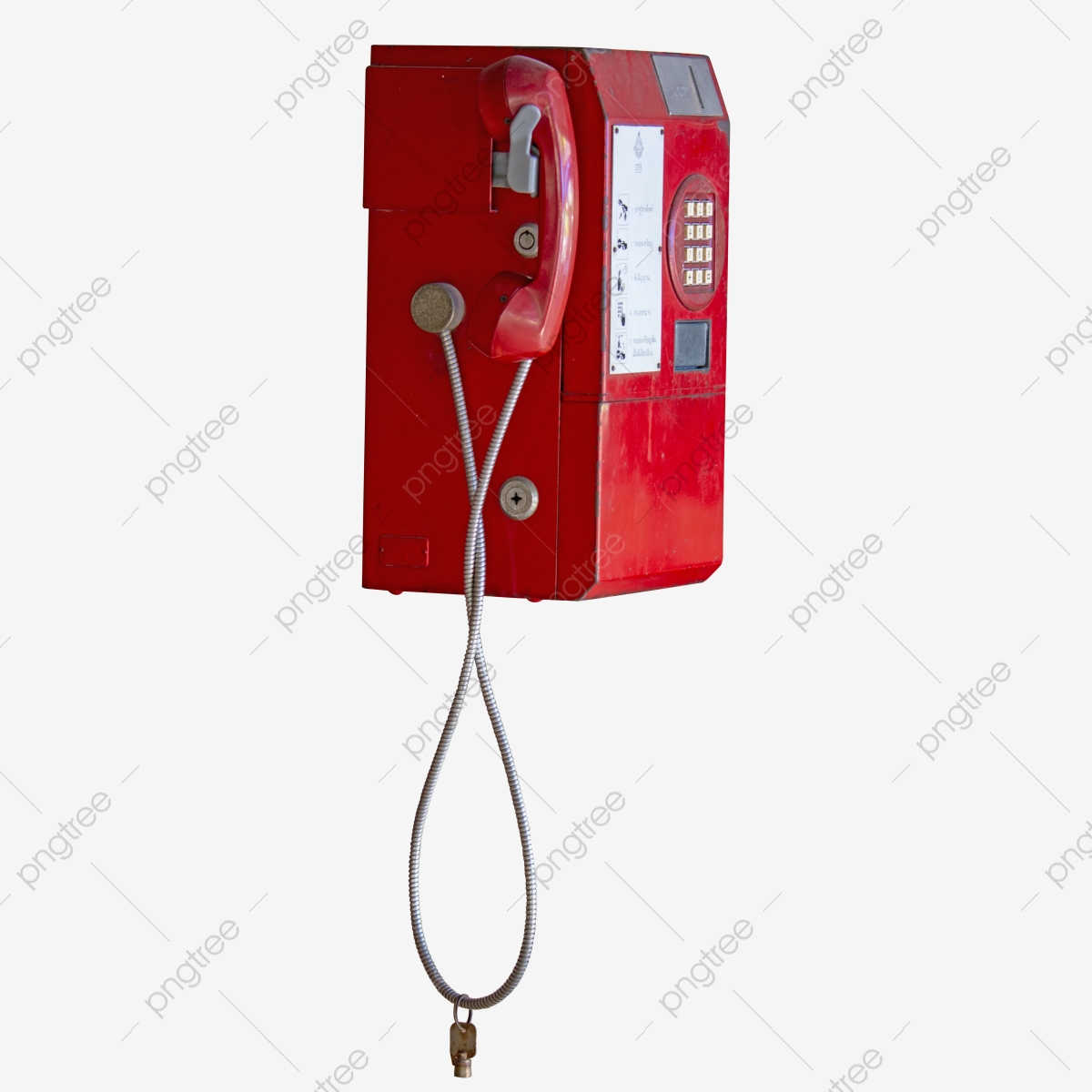 Red Telephone Callbox Insert Coin, Pay Phone, Public Telephone, Pay