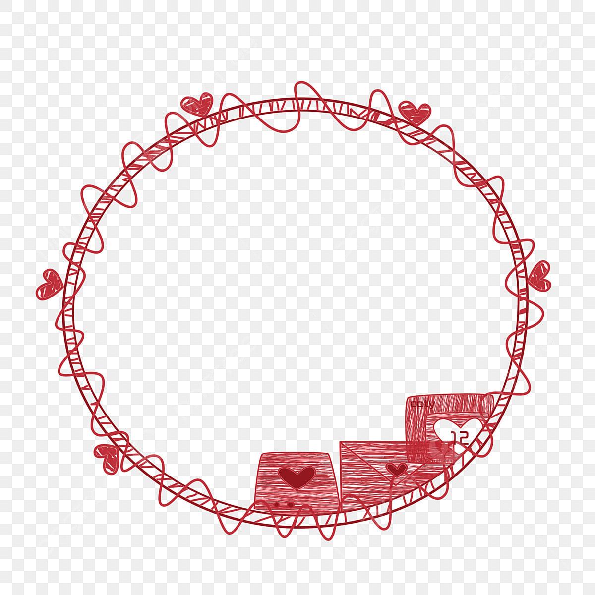 Estructura Metálica Roja Dibujado A Mano Alambre Alambre