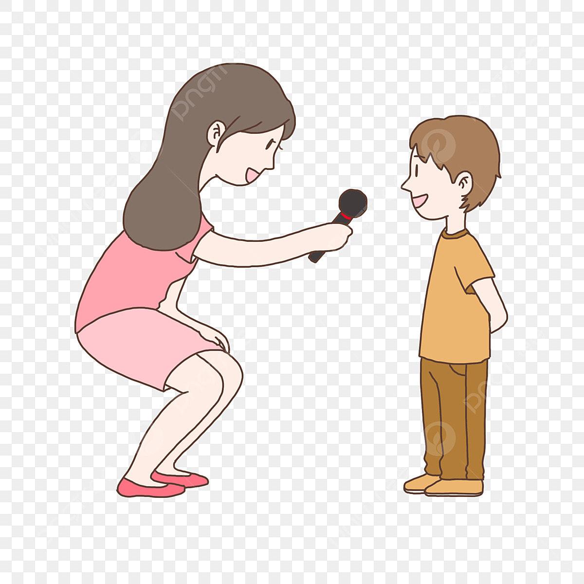Рисунок интервью с ребенком