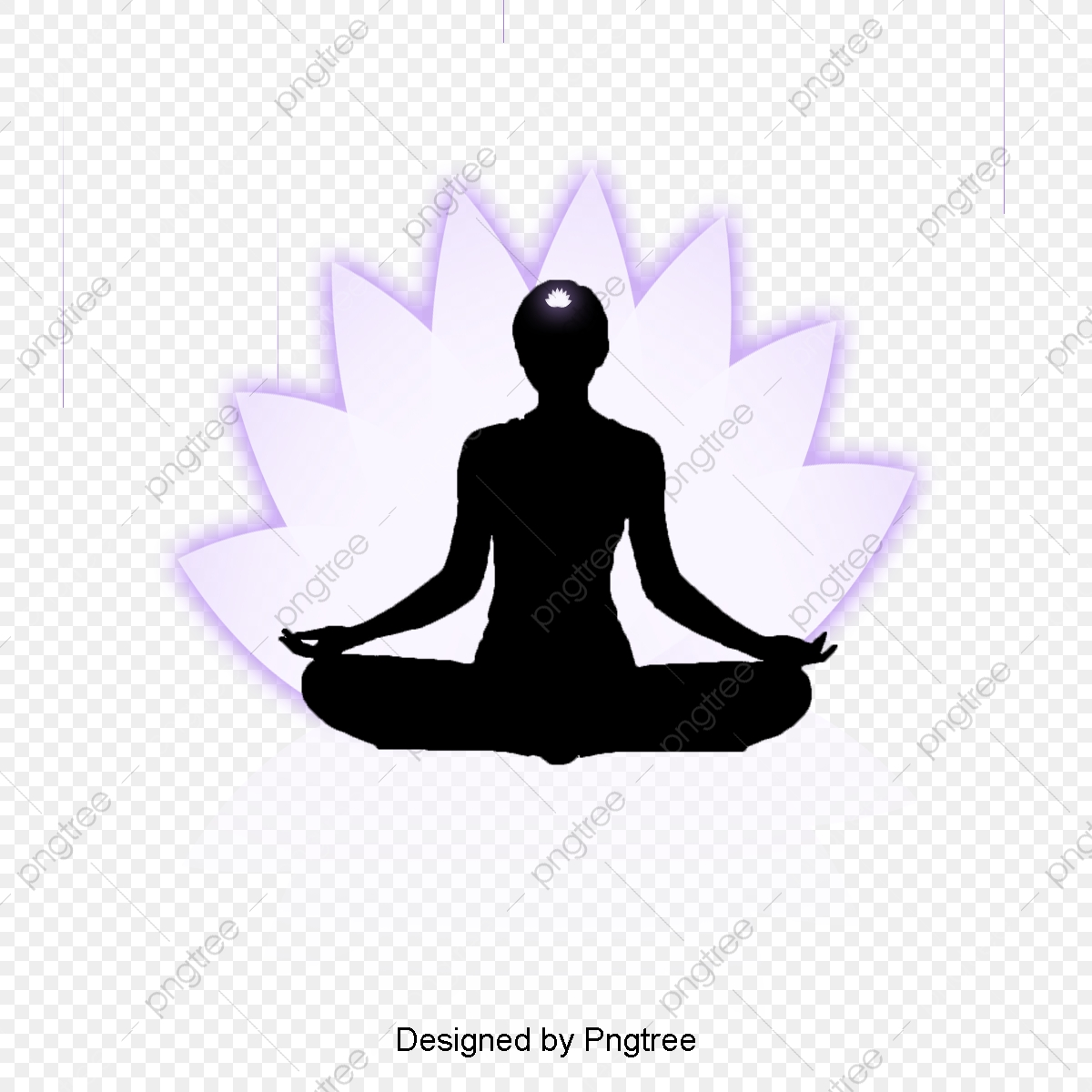 Simple Cartoon Beauty Yoga Decorative Pattern Yoga Physical Fitness Sitting Png Transparent Clipart Image And Psd File For Free Download