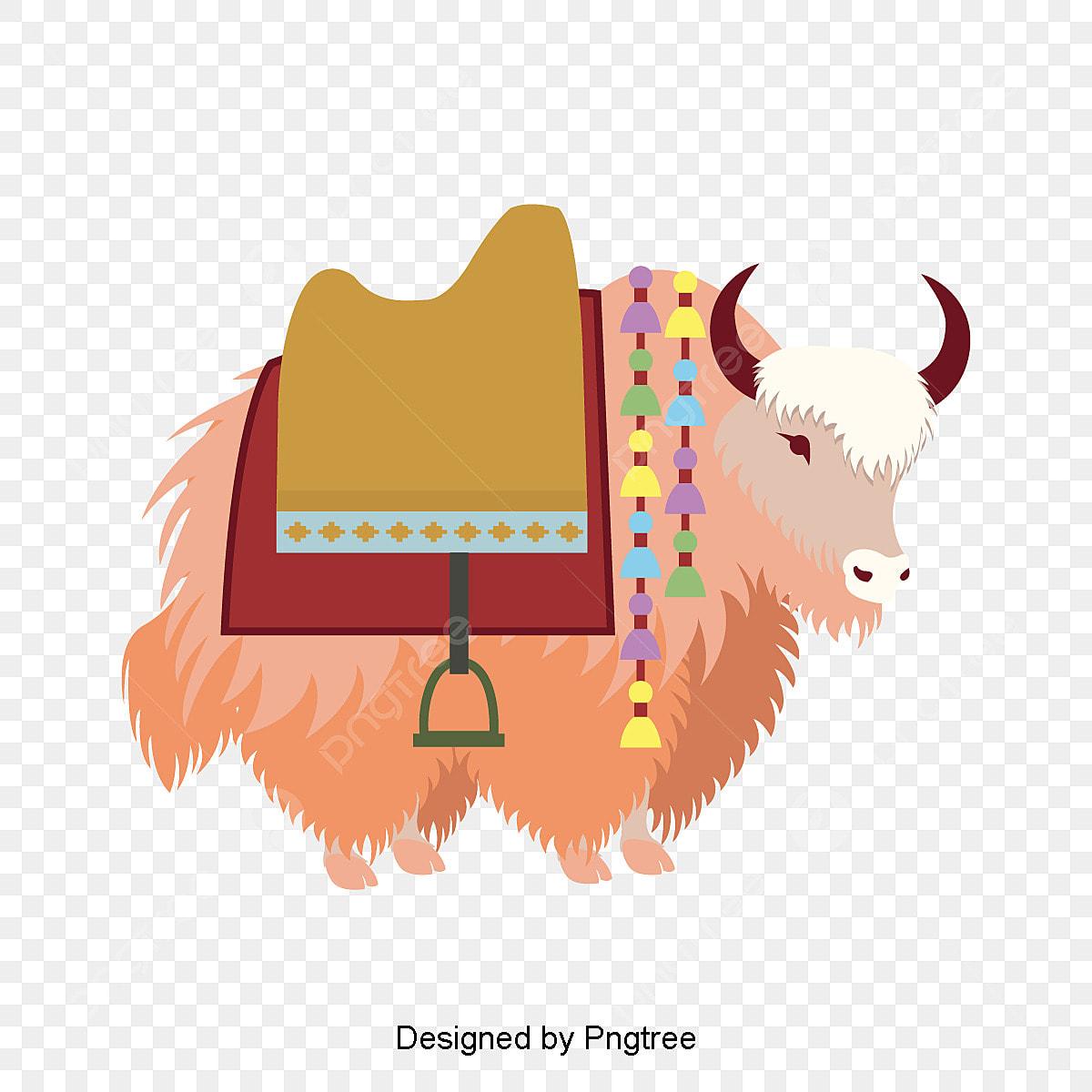 Clipart of a yak Cute cartoon yak drawing stock vector illustration of  character | Dorian.anayelizavalacitycouncil.com