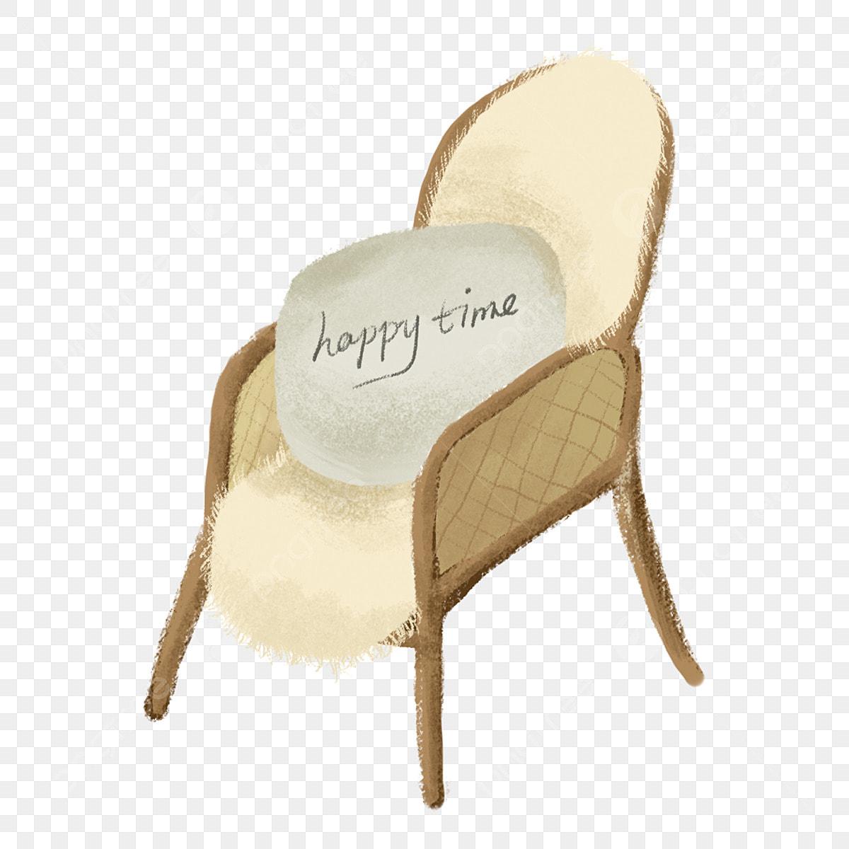 Sofa Decoration Cartoon 3d Sofa Chair Cartoon, Chair, White Chair