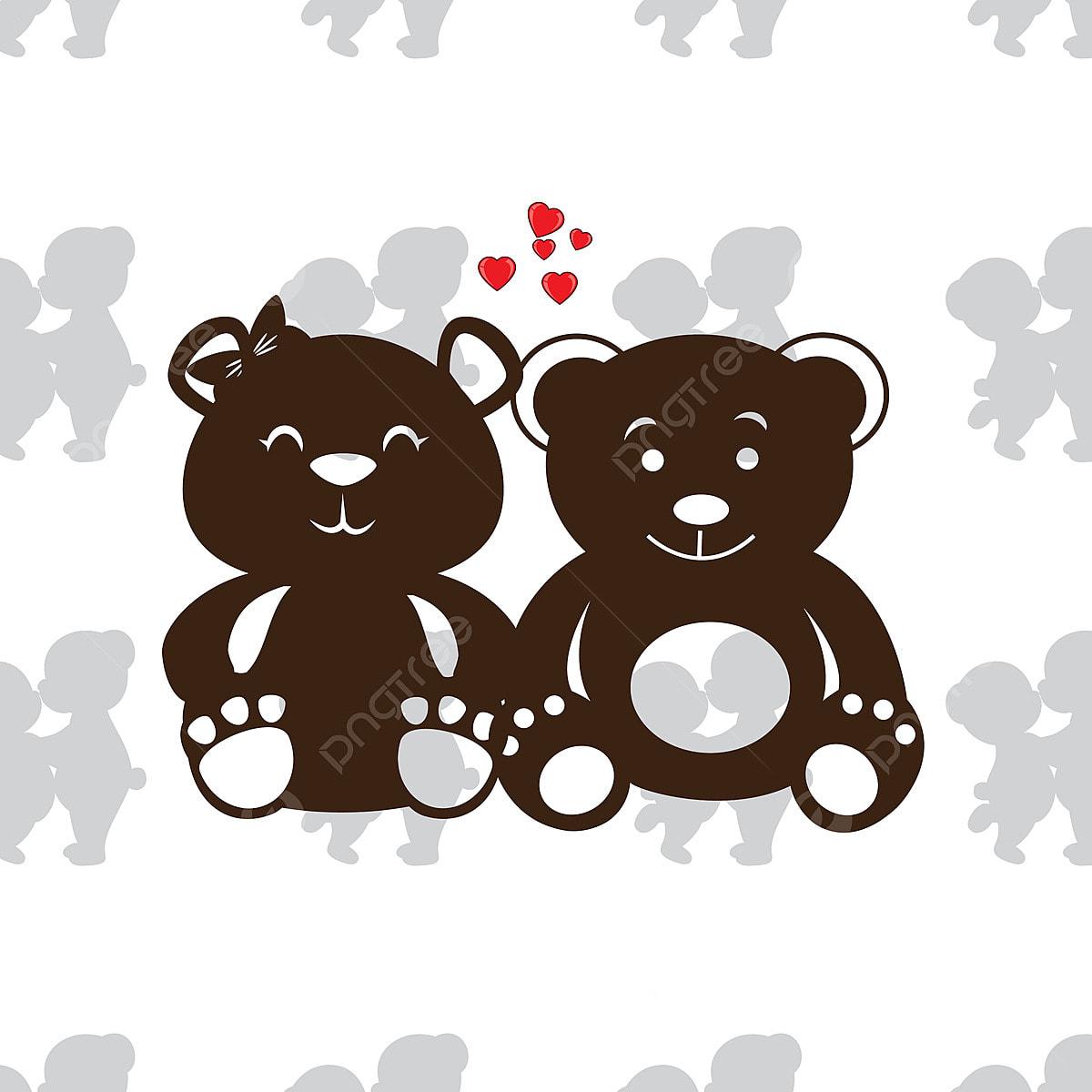 Dia Dos Namorados Fundo Fofo Ursinho O Dia Dos Namorados