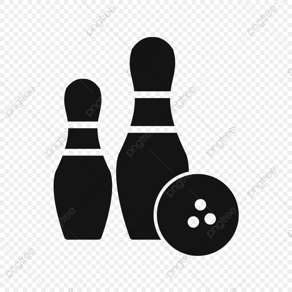Vector Bowling Icon, Bowling Icon, Game Icon, Strike Icon PNG and