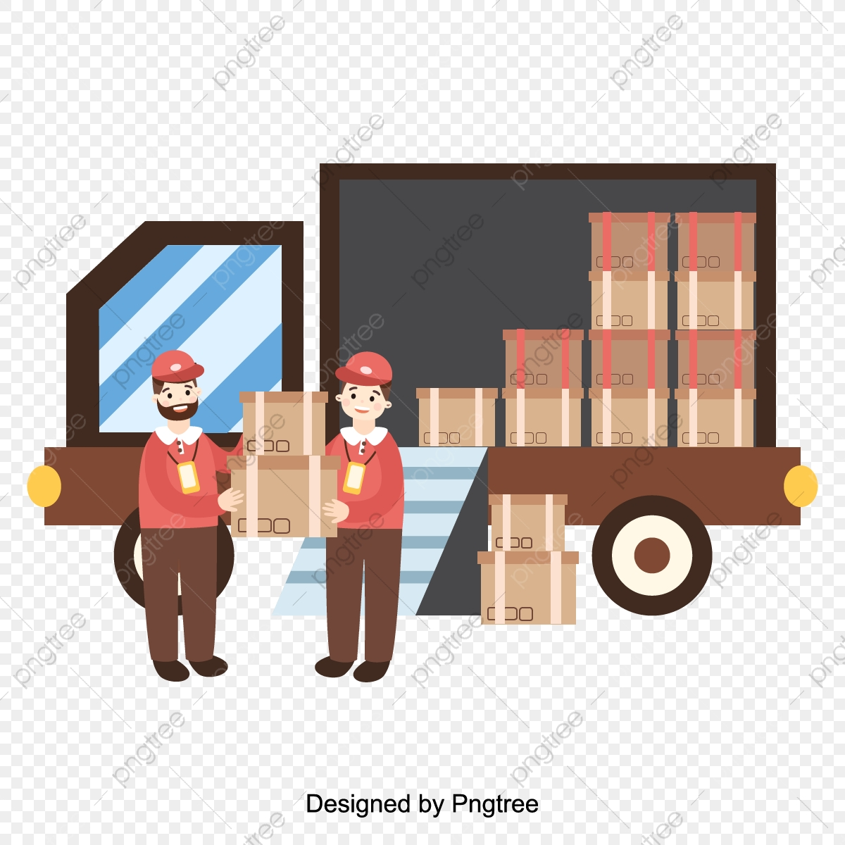 Flat Express Delivery Service Illustration, Delayering, Courier, Delivery  Work PNG and Vector with Transparent Background for Free Download