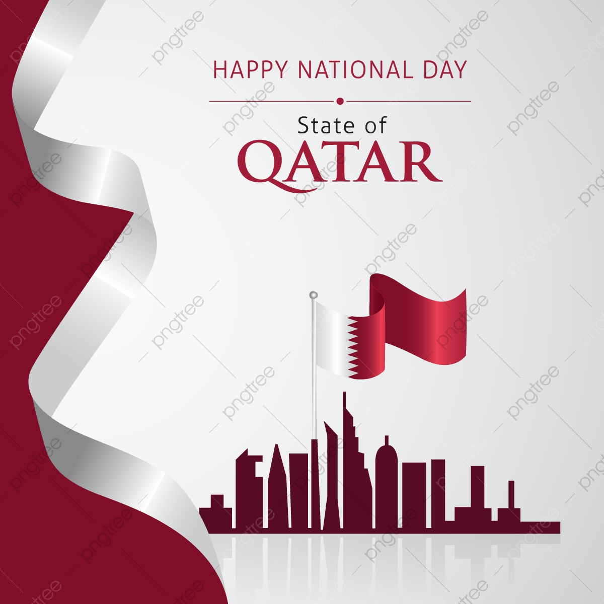 Vector Of National Day In Arabic Calligraphy Style With