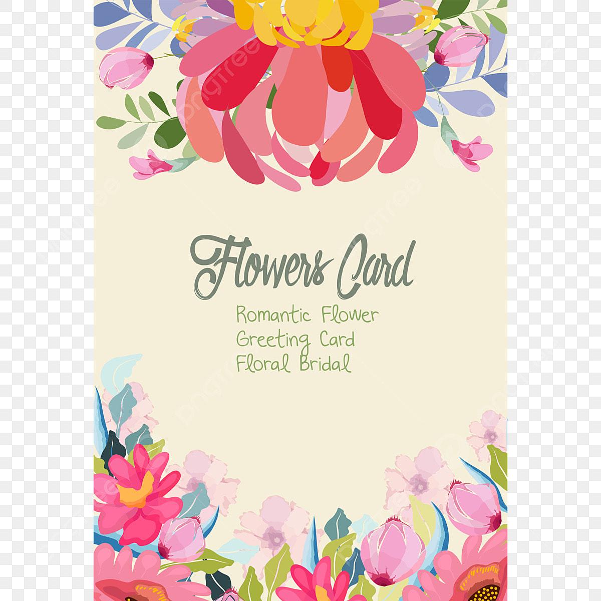 Plantillas De Tarjeta De Invitacion De Boda Con La Flor
