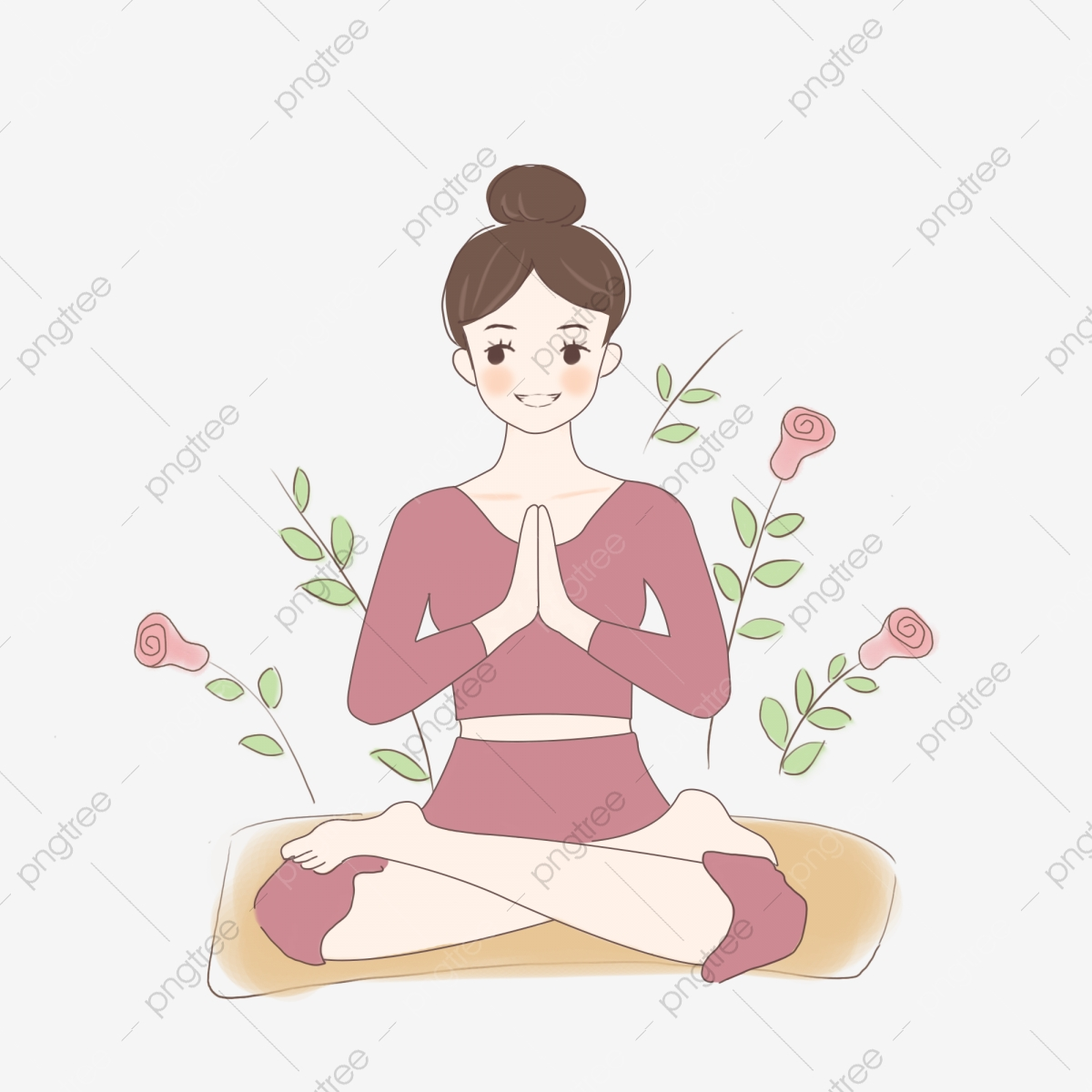Yoga Clipart Png Images 1100 Yoga Png Clip Art For Free Download Pngtree