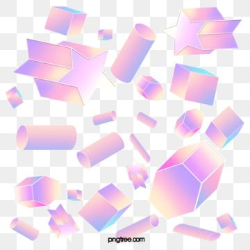 color gradient stereo geometric elements, Element, Geometry, Color PNG and PSD