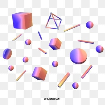 gradient solid geometry, Geometric, Geometry, Color PNG and PSD
