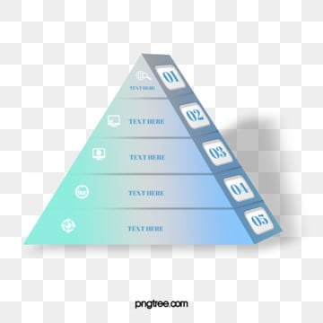 gradual pyramid geometric text information elements, Information, Geometric, Business Affairs PNG and PSD