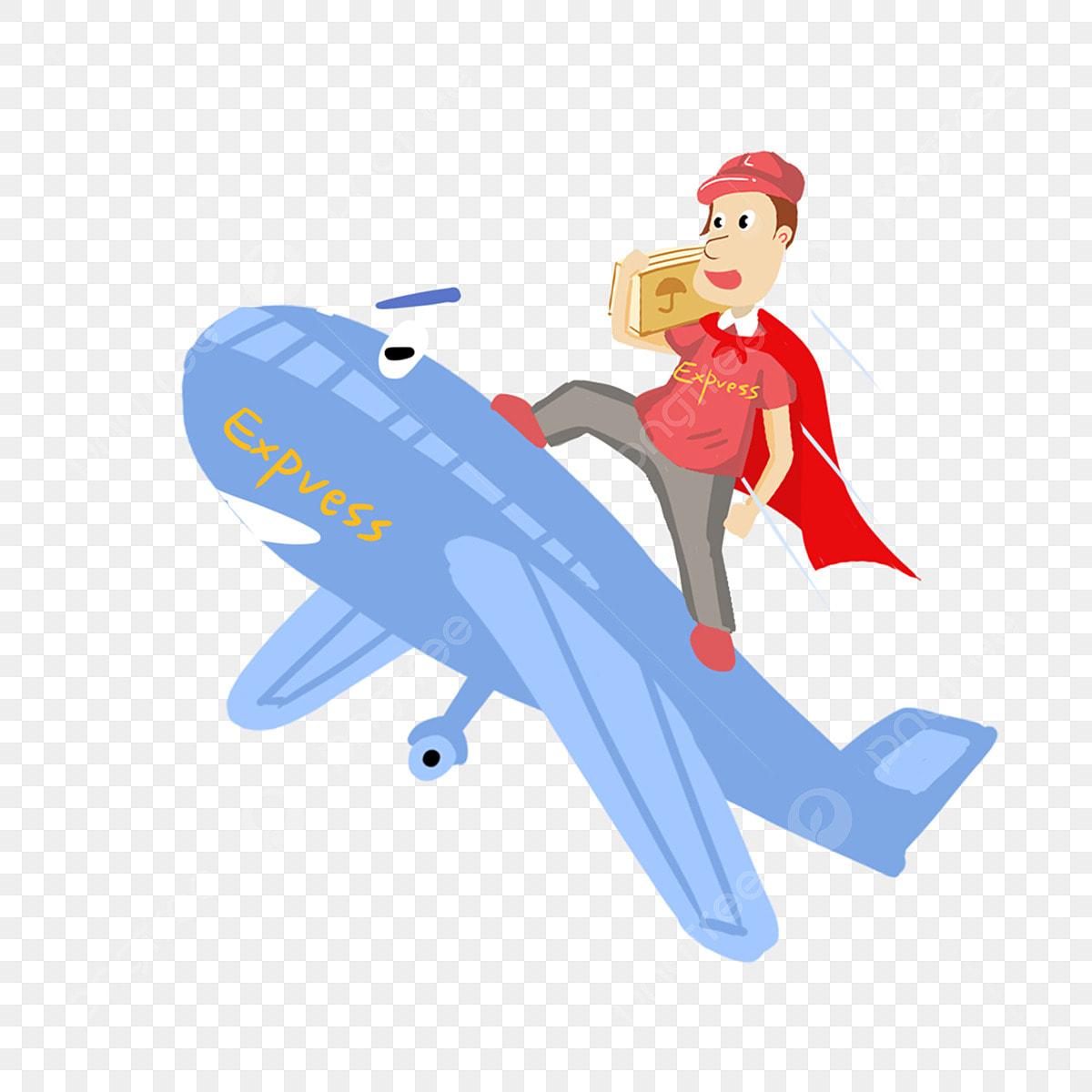 Aircraft Blue Air Transport Aviation, Logistics, Express