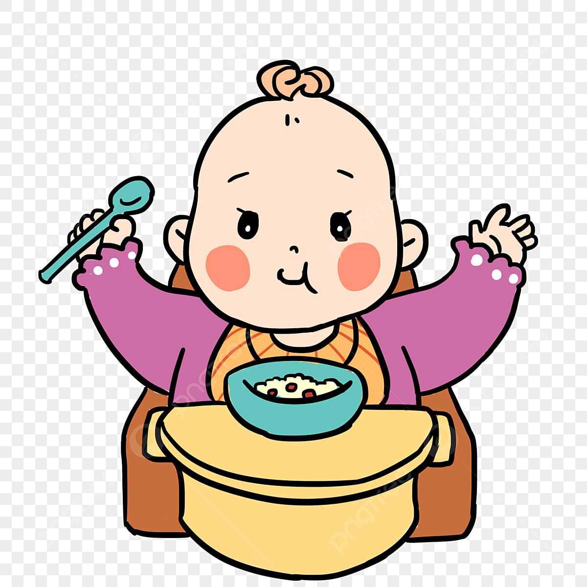 Ilustrasi Kartun Bayi Bayi Ilustrasi Tangan Kartun Yang