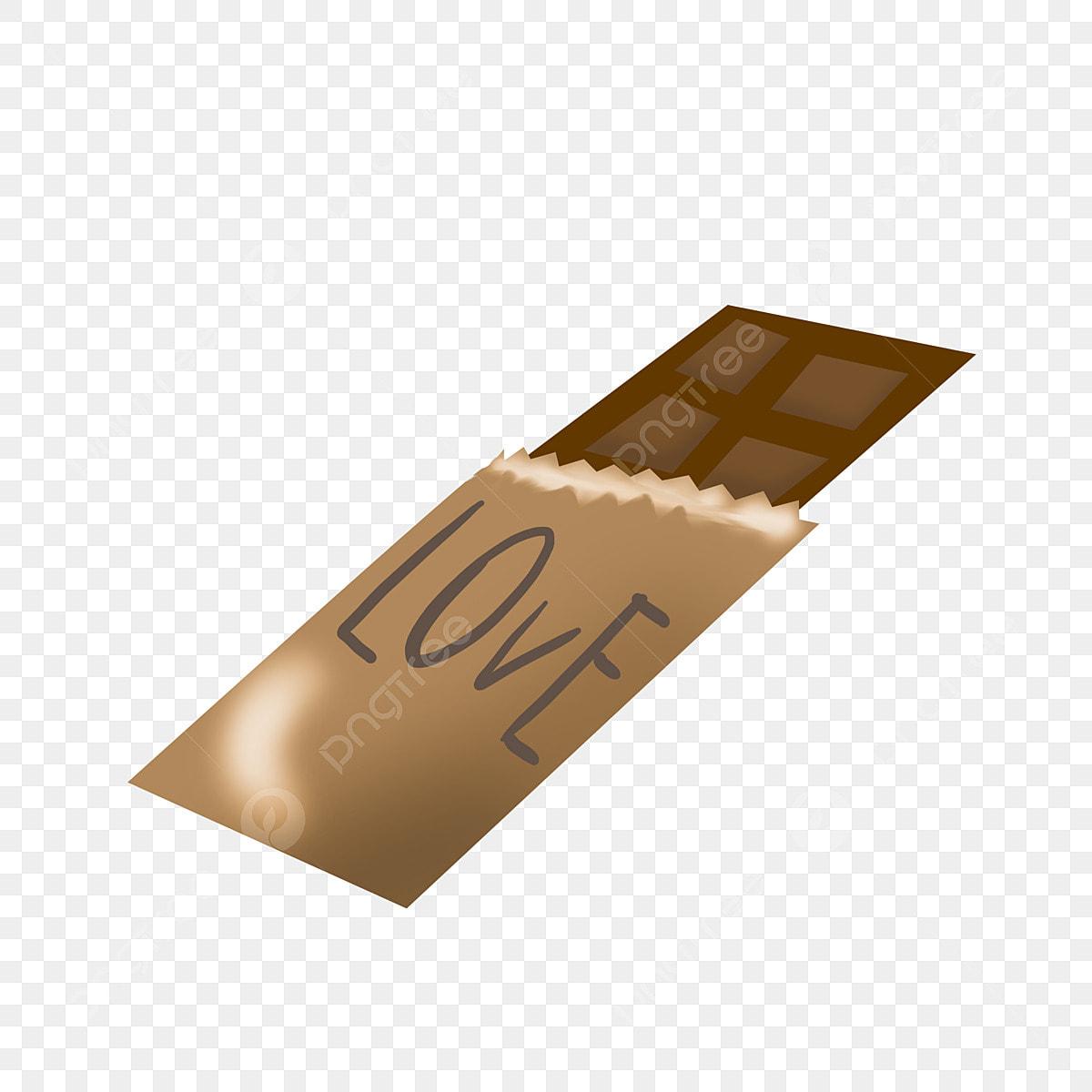 Chocolat Noir Délicieux Chocolat Illustration De Dessin