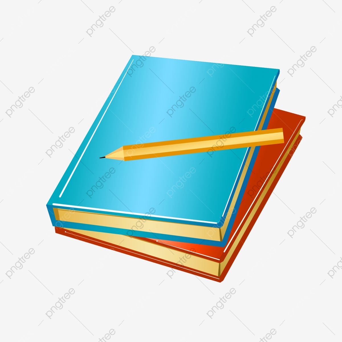 Blue Book Blue Notebook Yellow Coin Stationery Notebook