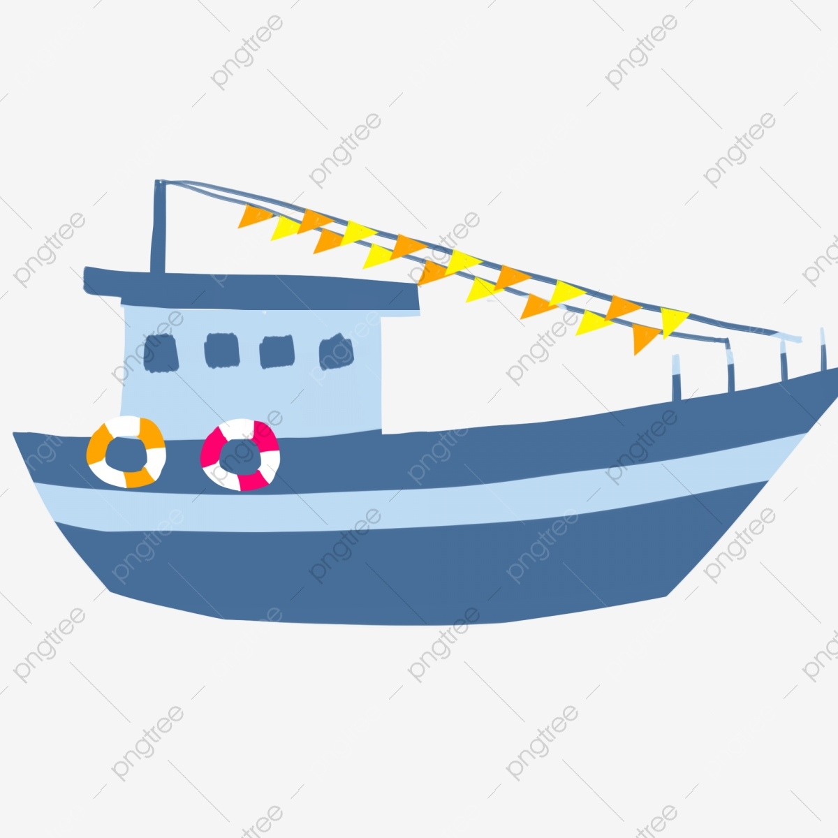 blue ship beautiful ship ship illustration cartoon ship ship decoration yellow flag round lifebuoy png transparent clipart image and psd file for free download https pngtree com freepng blue ship beautiful ship ship illustration cartoon ship 3868389 html