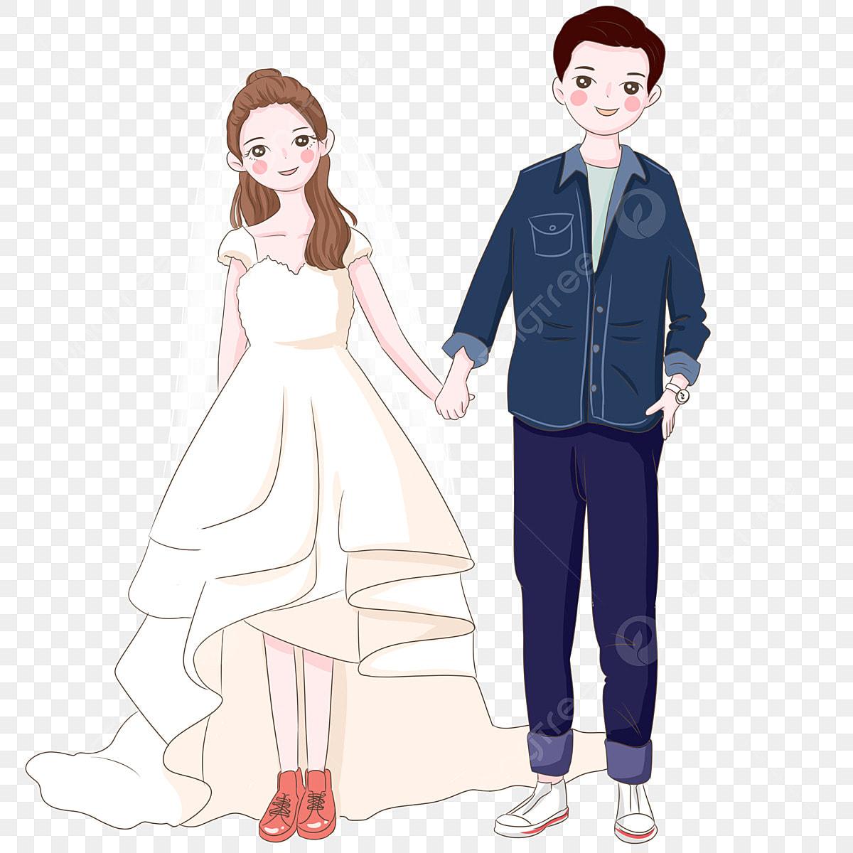 Gambar Pengantin Lelaki Pengantin Perempuan Mengambil Gambar Perkahwinan Ilustrasi Pengantin Lelaki Ilustrasi Dan Png Dan Psd Untuk Muat Turun Percuma