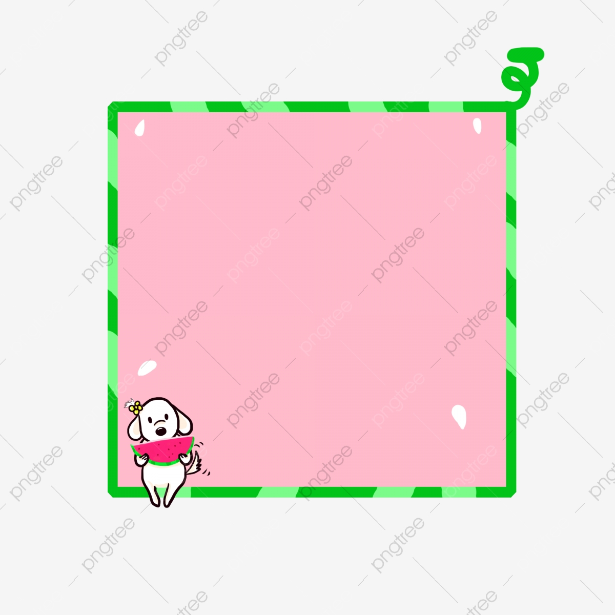 Cartoon Animal Cartoon Animals Dog Little White Dog Eat