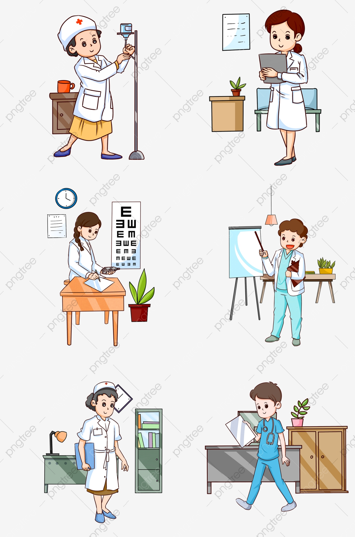 Cartoon Doctor Cartoon Nurse Doctor Comics Nurse Comics