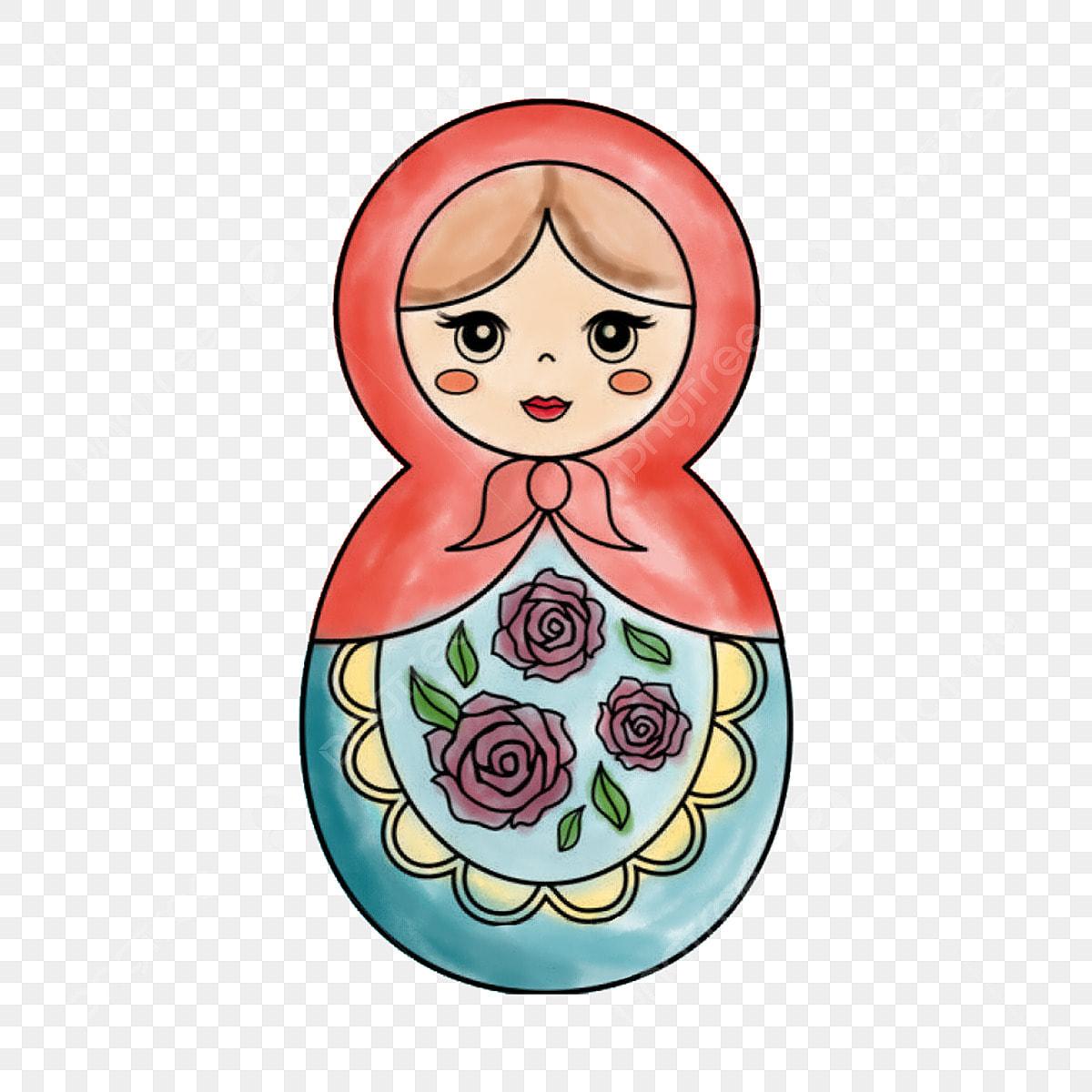 Matryoshka Dolls Set Stock Illustration - Download Image Now - iStock