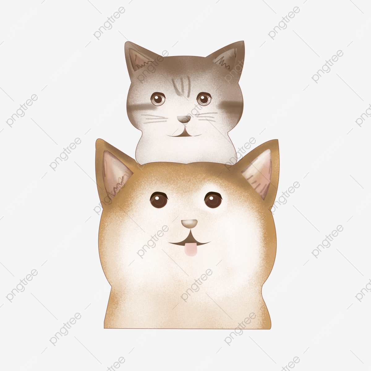 Cat Cat Garfield Pet Cat Hand Painted Cat Cartoon Cat Cat Illustration Png Transparent Clipart Image And Psd File For Free Download