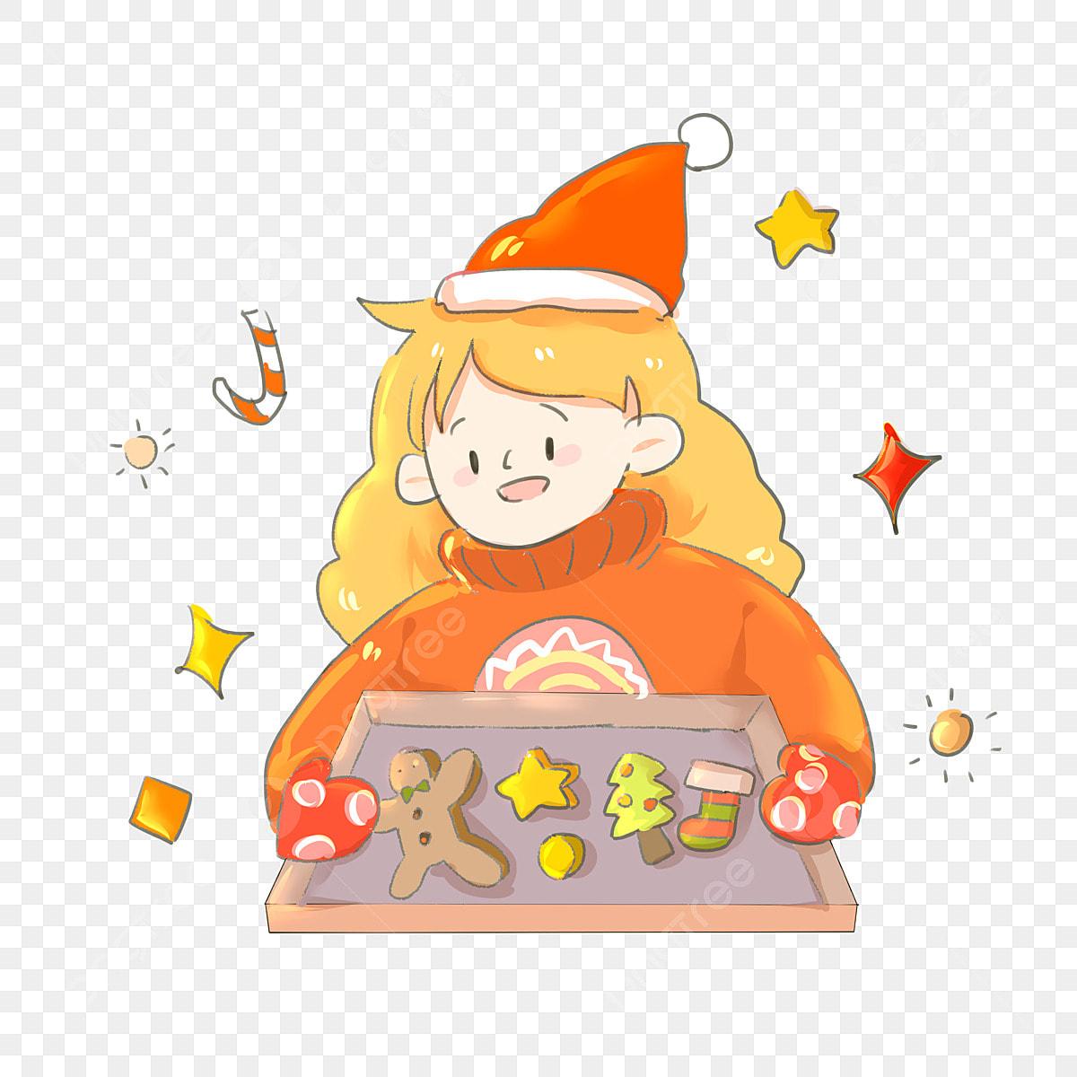Imagenes De Galletas De Navidad Animadas.Calcetin De Navidad Galletas De Navidad Estrella Roja De
