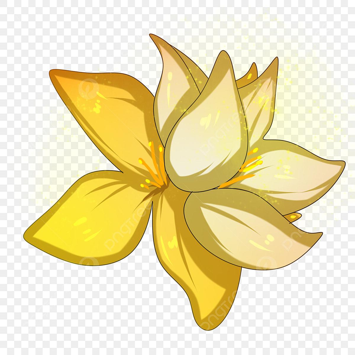 Golden Daffodil Clip Art