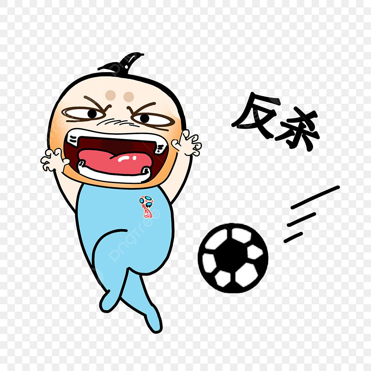 Pembunuhan Ekspresi Ilustrasi Bola Sepak Piala Dunia Pemain