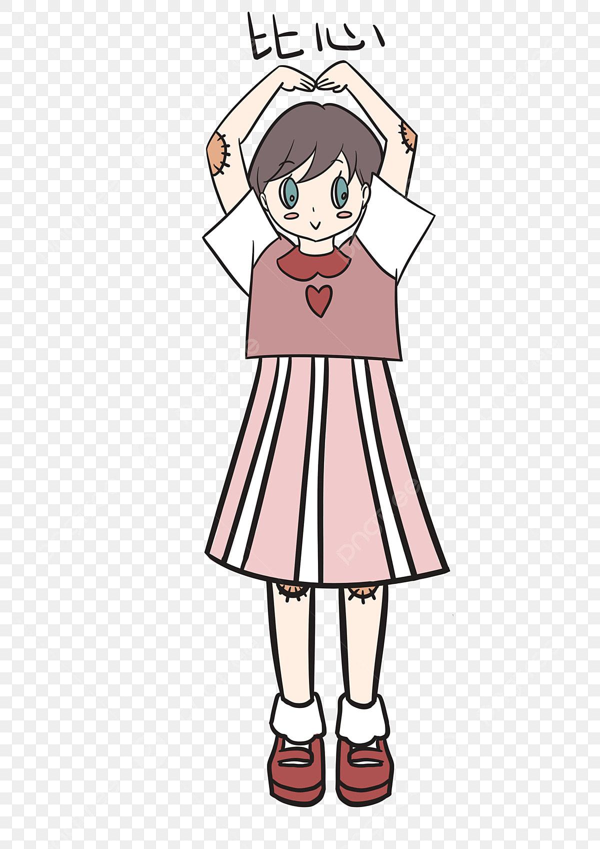 Ungkapan Dari Hati Pek Ekspresi Gadis Kecil Ekspresi Gadis
