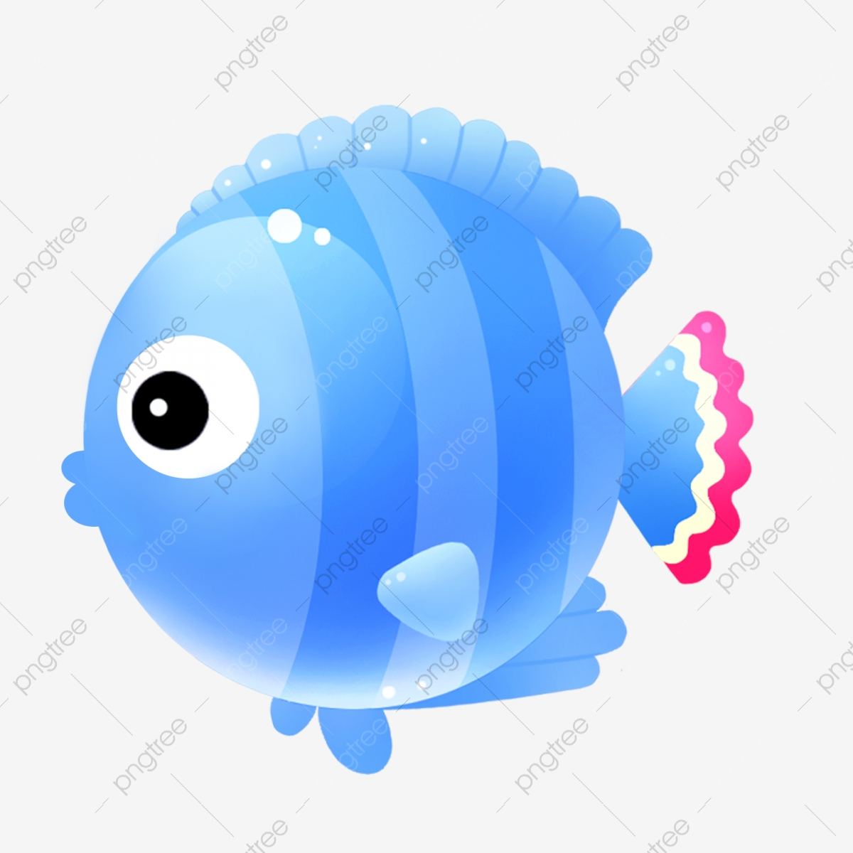 Fish Small Fish Hand Drawn Fish Cartoon Fish Cute Fish Blue Fish Cartoon Png Transparent Clipart Image And Psd File For Free Download