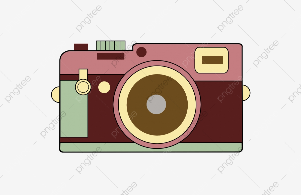 Hand Drawn Camera Color Camera Cartoon Camera Travel Camera Travel Photography Photo Vacation Png Transparent Clipart Image And Psd File For Free Download