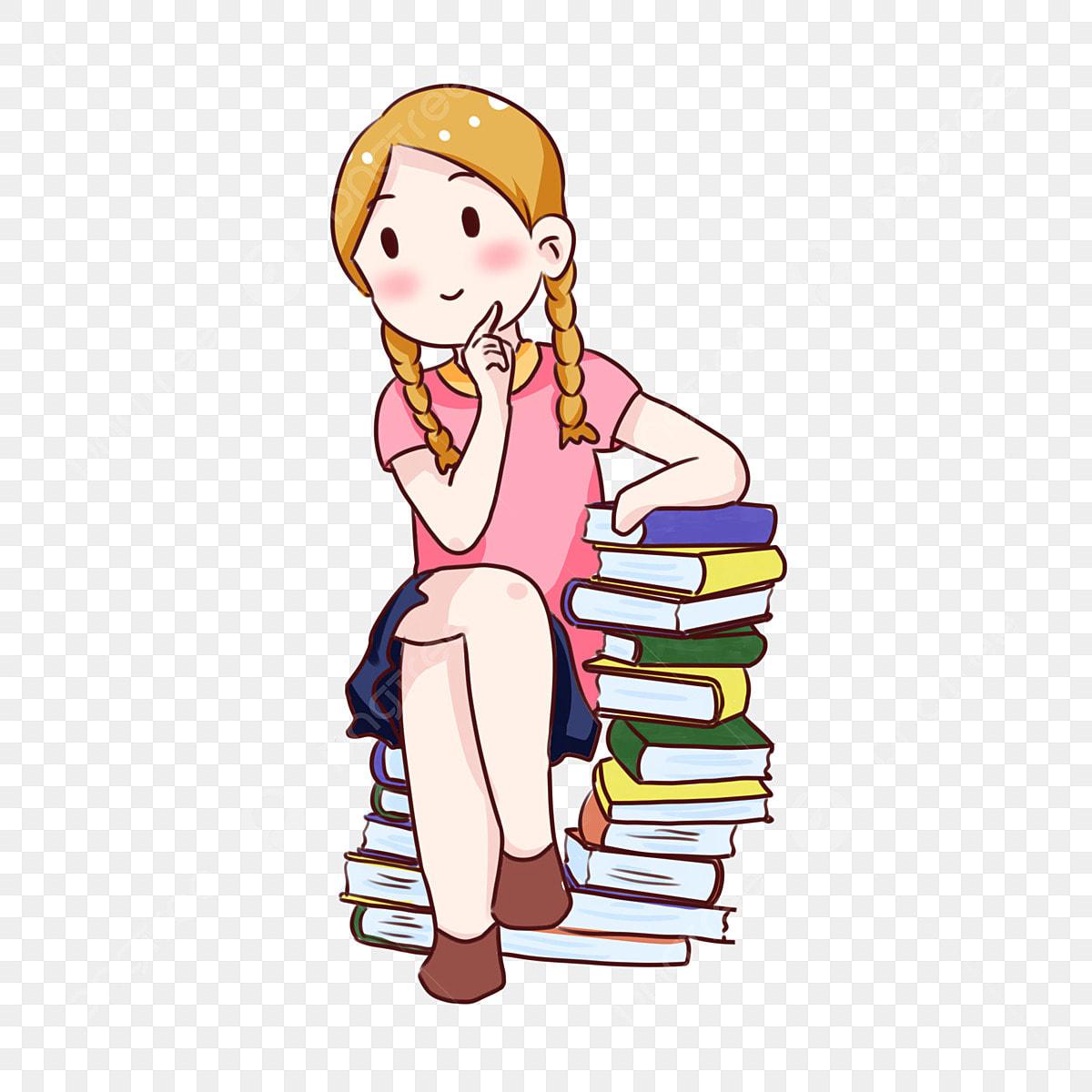 Eleve De Jour Decole Dessin Anime Dessine A La Main Livre La